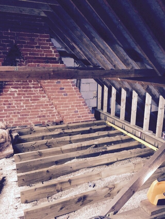 Loft Conversion Flooring Basingstoke
